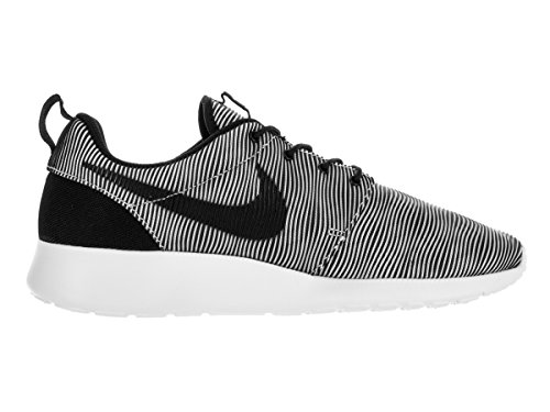 Nike Men's Roshe One Prem Plus Running Shoes, Black, 7.5 UK White/Black