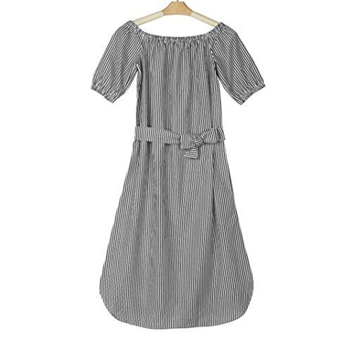 Kleid Transer® Damen Ebene Off Schulter Abendkleid mit Bowknot Täglich Kleider Geschäft Halber Arm Klassik Kleider