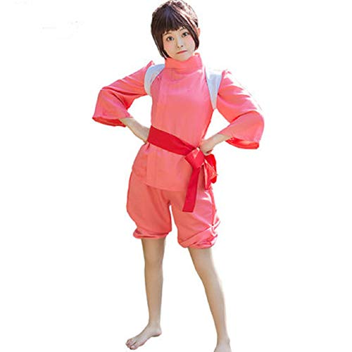 Taipin Spirited Away Cosplay Clothes Red]()