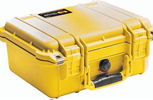 Pelican 1400 Case w/Foam (Yellow) Pelican 1400 Protector Case