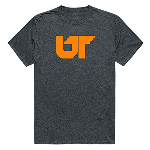 - UTHSC The University of Tennessee Health Science Center NCAA Men's Cinder College Tee t Shirt, Small Charcoal
