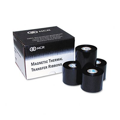 Black NCR Thermal MICR Ribbon for NCR 7766/7780 (NCR182151) Category: Printer Ribbons