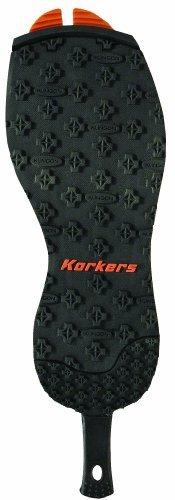Korkers rotside mit Filz Außensohle und Kling-on Außensohle Filz 034583