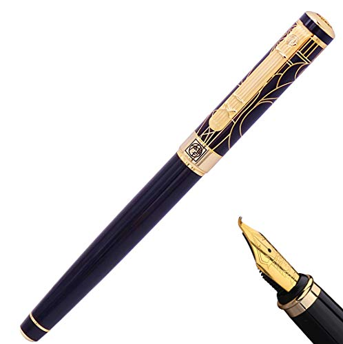 Picasso 902 Gentleman Collection Fountain Pen Bent Nib riting Gift Pen for Signature,Calligraphy