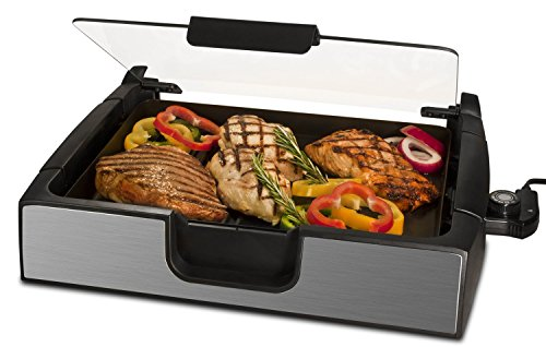 Smart Planet SIG‐4 Napa Valley Gourmet Premium Smokeless Stainless Steel Grill, - In Valley Shopping Napa