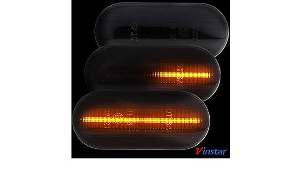 Intermitente LED lateral Smoke compatible con Bora Golf 3 4 Lupo ...