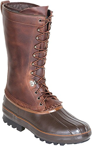 Kenetrek Unisex 13 Inch Grizzly Insulated Boot,Brown,12 M US
