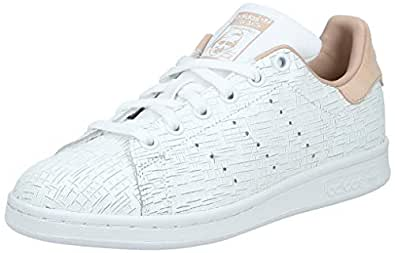 Adidas Women's Stan Smith Trainers, Footwear White/Ash Pearl, 4 UK 36 2/3 EU,Cq2818