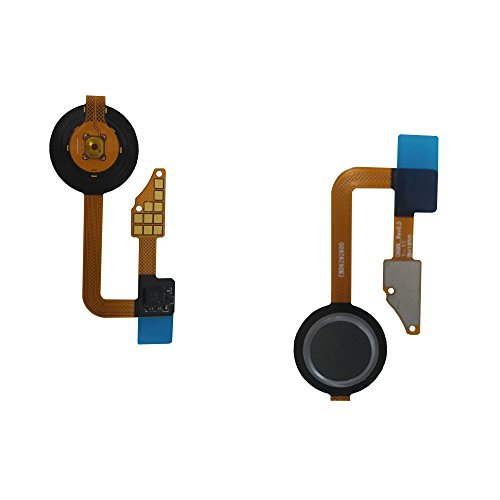 Alovexiong Gray Home Button Fingerprint Power Button Key Touch Sensor Flex Cable Ribbon Replacement Parts for LG G6 US997 VS988 H870