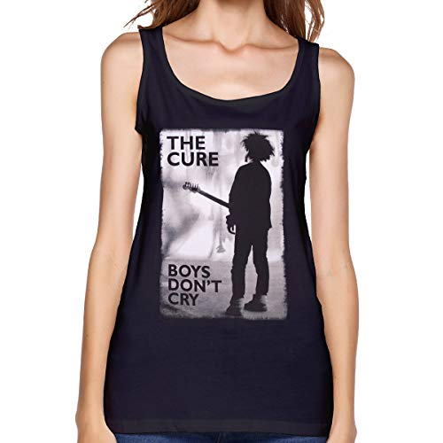 Capa Mr.Luo The Cure- Boy's Don't Cry Women's Tank Top Shirt Black