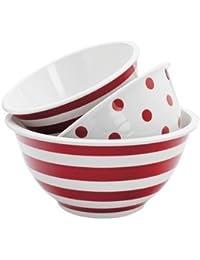 Take 1 - 3Pc Dec.Melamine Mixing Bowl save