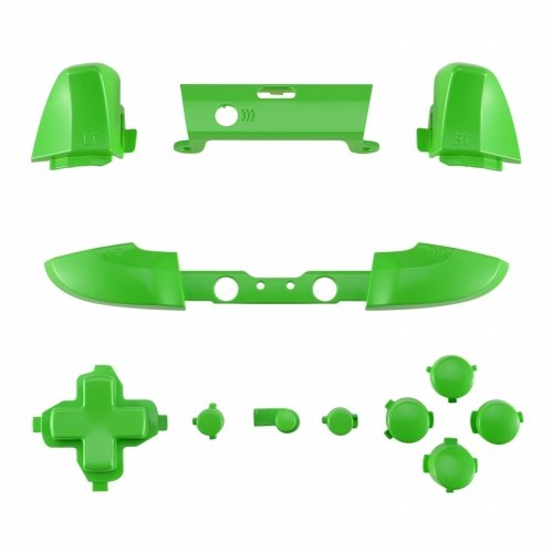 ModFreakz® Full Button Set Satin Lime Green For Xbox One Model 1708 Controllers