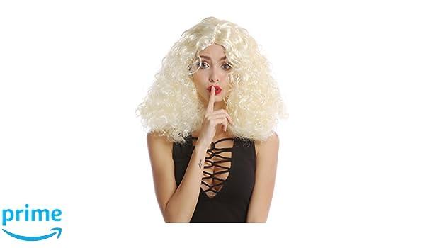 WIG ME UP ® - 90918-ZA615 Peluca Mujer Halloween Carnaval ...