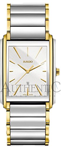 - Rado Integral Two-tone Stainless Steel Quartz Silver Dial Mens Watch R20996103