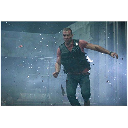 A Good Day to Die Hard Jai Courtney as Jack McClane Running Through Broken Glass 8 x 10 Inch (Courtney Glasses)