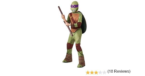 Tortugas Ninja - Disfraz de Donatello, para niños, talla L ...
