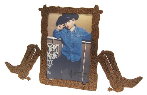 Cowboy Boot Frame (Cowboy BOOT 3X5 Vertical Picture)