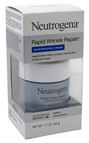 Price comparison product image Neutrogena Rapid Wrinkle Repair Regenerate Cream 1.7 Ounce (50ml) (6 Pack)