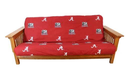 College Covers NCAA Alabama Tide Futon Cover, Full (54