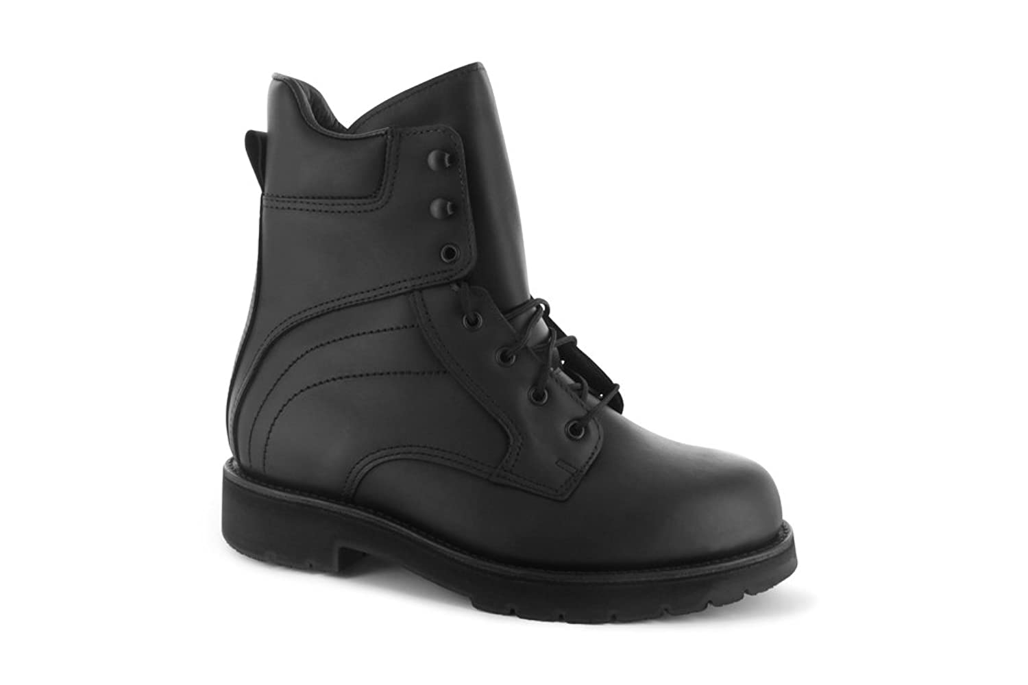 THE ABRAM BOOT COMPANY メンズ B0758B5SY2ブラック 8.5 3E US