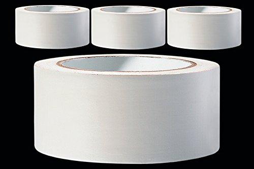 3 x PVC Schutzband glatt 50 mm PROFI Putzband 33 m weiss Putzerband Bautenschutzband Putzer Klebeband Putz Abdeckband
