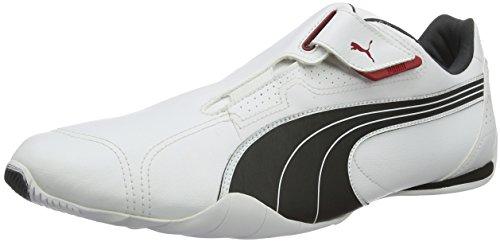 01 01wht Bianco Blk Red 185999 Puma Blk REDON Unisex MOVE Red Wht sportive 001 adulto Scarpe ZSwUB7q