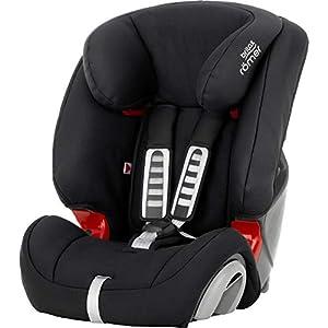 Britax Römer car seat 9-36 kg, EVOLVA 123 group 1/2/3, Cosmos Black
