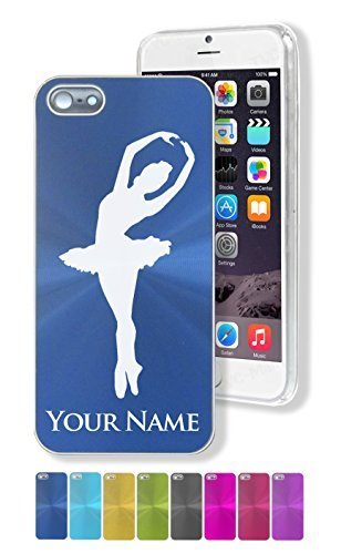 """iPhone 5/5S Case/Cover - BALLERINA DANCER, BALLET DANCING, DANCE - Personalized for FREE (Click the """"Contact Seller"""" link after purchase to tell us your case color and engraving request)"""