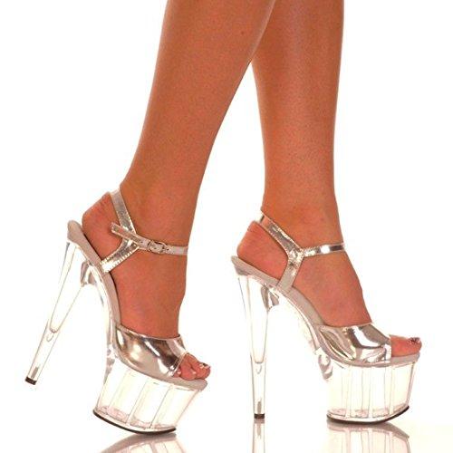 banchetti alla Sottile scarpe Lady's sexy di di alto nozze party temperamento estate scarpe tacco personalità moda punta black da e cristallo scarpe YMFIE OqXf4q