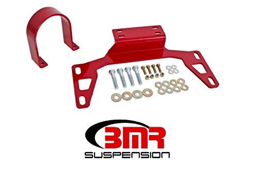 BMR Suspension DSL017R Mustang Driveshaft Safety Loop Front (11-17)