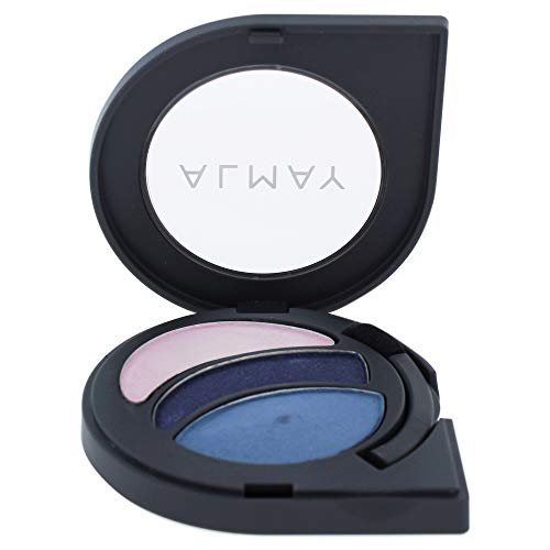 Almay Intense I-color Powder Shadow - 130 Blues By Almay for Women - 0.2 Oz Eye Shadow, 0.2 Oz (Best Makeup Ideas For Blue Eyes)