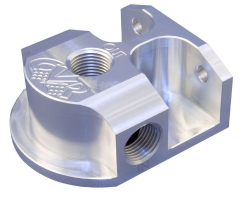 CVR Performance OFM61 Billet Aluminum Oil Filter Mount