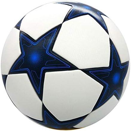 チャンピオンズリーグの公式のフットボールの球の物質的なPUの専門の競争の列車の耐久のサッカーボールのサイズ5