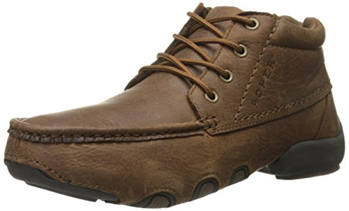 Roper Mens High Country Cruisers Work Shoe Brown Tumbled