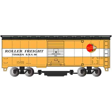 Track Cleaning 40' Box Car TIMKEN - HO Scale