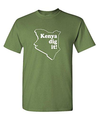 GOOZLER KENYA Mens Cotton T Shirt
