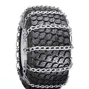 Thrower 2 Link 4.10 x 3.50 x 6 Snow Blower Snow Tire Chains for ATV