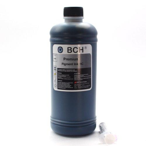 BCH Premium PIGMENT 500 ml (16.9 oz) Black Refill Ink for -