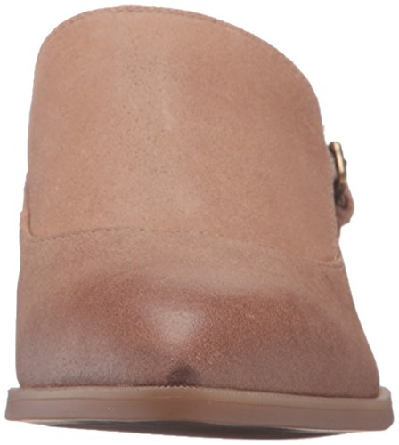 Leather Natural Nyessa Nine Monstrap Cuero Plano West Mujer qpOrZptc