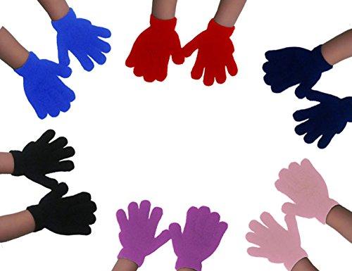 Childrens Gloves - Kids Winter Warm Girls Boys Magic Glove By CoverYourHair