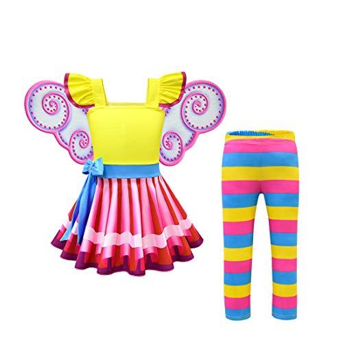 Thombase Peuter Kleine Meisjes Aankleden Kleding Baby Meisje Jurken
