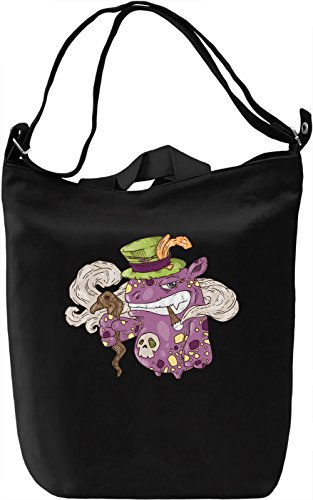 Smoking monster Borsa Giornaliera Canvas Canvas Day Bag| 100% Premium Cotton Canvas| DTG Printing|