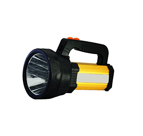 LED Rechargeable Spotlight, Super Bright 10000 Lumes Flashlights Outdoor Searchlight with 6 Light Model&8000Mah Power - Rechargeable Spot Led Light