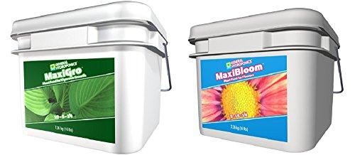 General Hydroponics MaxiGro 16lb + MaxiBloom 16lb Bundle by General Hydroponics