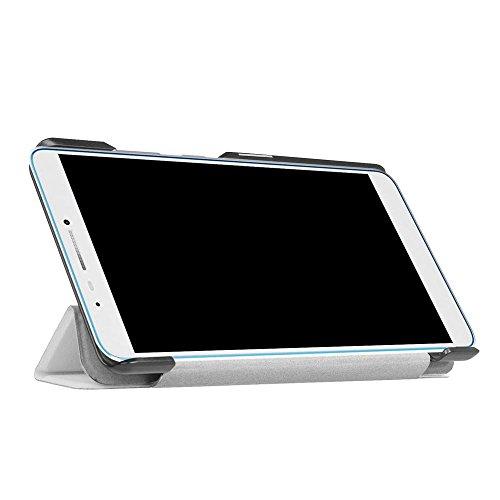Slim Shockproof Case for Samsung A8 (White) - 1