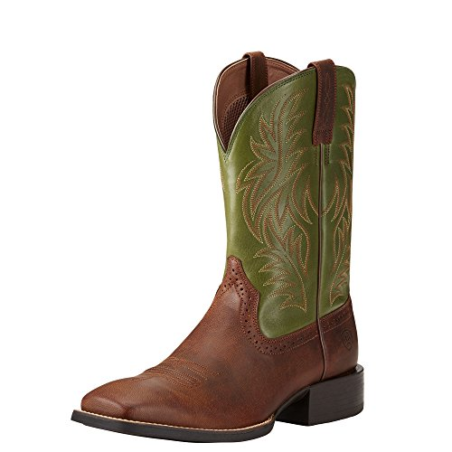 Ariat Mens Sport Western Wide Square Toe Western Cowboy Boot