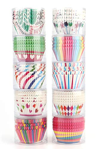 Tosnail Baking Cupcake Liners Muffin