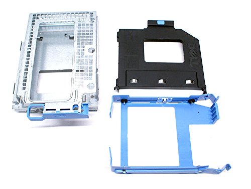 Genuine OEM Dell Optiplex 390 790 990 Small Form Factor SFF Hard Disk Drive HDD Optical Disk Drive ODD Caddy Cage Assembly Dell Part Numbers: 1B23G3V00 1B31D2200 1B31D2600 - Hard Drive Assembly