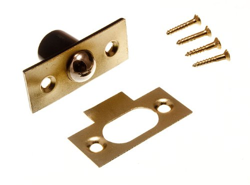 BALES CATCH TUBULAR BALL LATCH WITH SCREWS 19MM 3/4 INCH ( pack of 3 ) onestopdiy.com