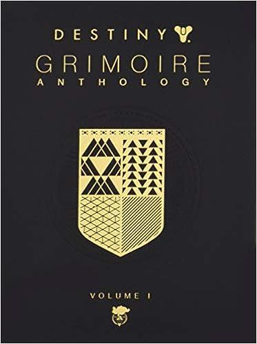 Amazon com: Destiny Grimoire Anthology, Vol I (9781945683442